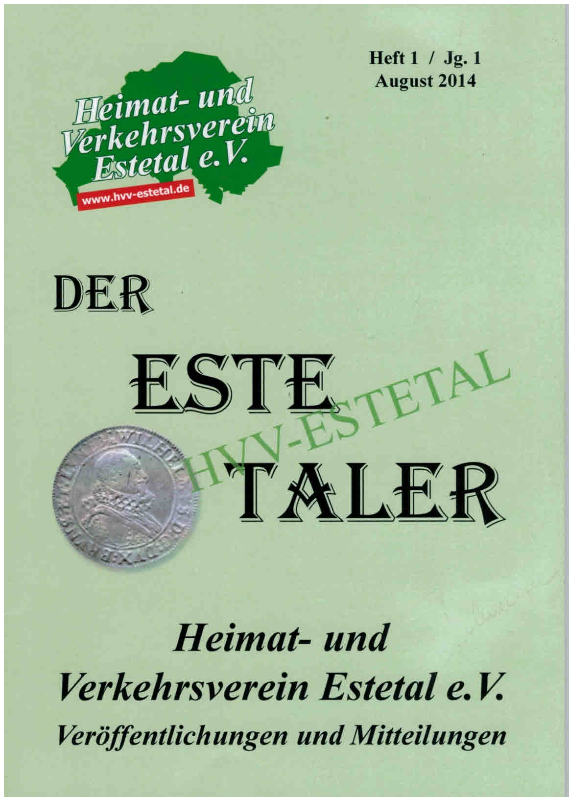 DER ESTETALER - Nr. 1