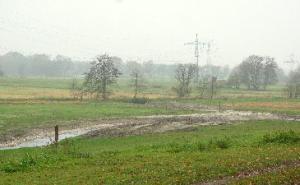 Sanierte Fläche mit Blick auf die Este